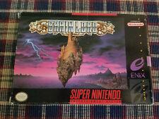 Brain Lord - Super Nintendo - SNES - Authentic - Original Box Only!