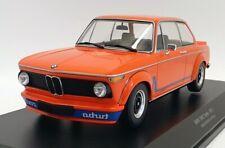 Minichamps 1/18 Scale Diecast Car 155 026202 - 1973 BMW 2002 Turbo - Orange