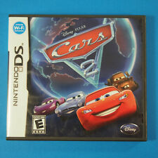 Cars 2: The Video Game (Nintendo DS, 2011) Complete in box CIB