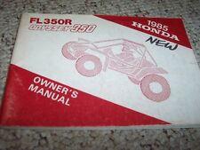 1985 Honda FL350R ODYSSEY 350 DUNE BUGGY ATV Factory User Guide Owner Manual