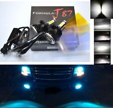 LED Kit G5 80W 9003 HB2 H4 8000K Icy Blue Head Light Two Bulbs Dual Beam Upgrade