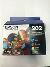 Epson DURABrite Ultra Ink Cartridge -Blk, Cyn, Mgnta, Yellow - T202120-BCS