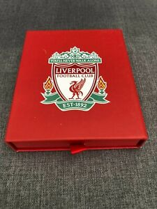 Liverpool FC Football Gift Wallet Black with Box