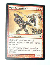OGRE DU CLAN KRARK - CREATURE OGRE - VF CARTE MTG MAGIC