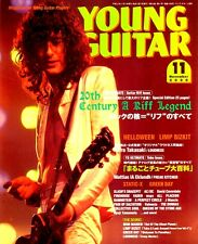 JIMMY PAGE LED ZEPPELIN YOUNG GUITAR NOVEMBER 2000 JAPAN IMPORT