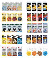 Hörgerätebatterien Typ 10 - 13 - 312 - 675: Duracell, Siemens, Brillant,