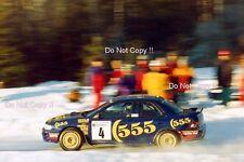 Colin McRae SUBARU IMPREZA 555 RALLY svedese fotografia 1995 1