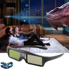 USB Rechargable Active Shutter 3D Glasses 144Hz for DLP 3D Projector Acer BenQ