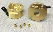 Brass Front Steering Knuckles for Axial SCX-10 II 252g total