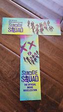 2016 SDCC COMIC CON TITAN DC SUICIDE SQUAD PROMO CARD BOOKMARK SET OF 2