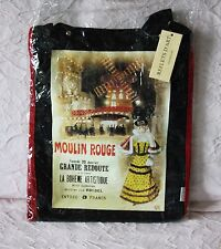 BORSA ORIGINALE REFLETS D'ART IN COTONE MOULIN ROUGE NUOVA