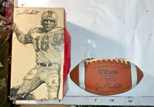 Jim Plunkett Famous Player Youth Football Wilson Sporting Goods River Grove Il