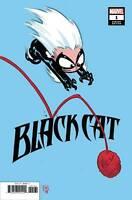 BLACK CAT #1 SKOTTIE YOUNG VARIANT FIRST PRINT MARVEL COMICS (2019) NM