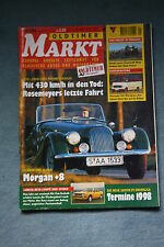 Oldtimer Markt  1/1998, Morgan +8, Lancia Beta, top
