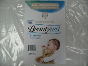 Simmons Beautyrest Posture Perfect-Mini Crib Mattress 5 inch Thickness