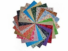 "80 5"" Quilting Fabric Squares/ Antique Calico Reproductions/Charms 1 !!!"