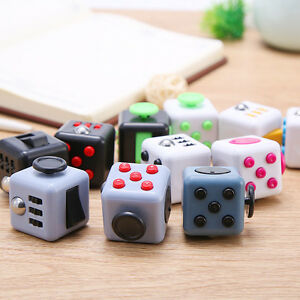 Fiddle Fidget Cube Children Kids Desk Toy Adults Stress Relief ADHD Toy Gifts