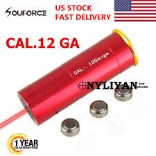 US 12GA CAL12Gauge boresight Red Dot Laser Bore Sight Cartridge For Hunting