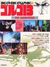 "GOLGO 13 ""The Animation"" Art Illustration Fabook Book Japan"