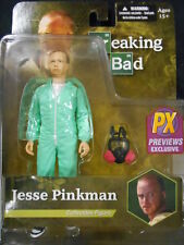 """Breaking Bad """"Jesse Pinkman (azul Hazmat)"""" Px Exclusivo Figura De Acción (Mezco)"""