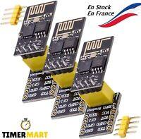 ESP8266 ESP-01S avec Adaptateur pour ESP01 NRF24L01 pour Arduino TimerMart