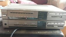 Retro 1980s Sharp SA-101HB tuner FM/MW/LW 3 Band Stereo Receiver