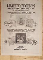 Genesis collection 1975 press advert Full page 28 x 39 cm poster