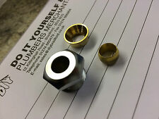 Gas FIRE  Restrictor Reducer Glands 12mm-8mm
