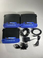 3 Lot Linksys BEFSR81 EtherFast Cable/DSL Wired Router 8-Port & 4-Por(2x) 10/100