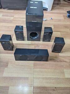 Panasonic Home Theatre Surround Sound Speakers, SB-HC490, SB-HS290, SB-HW190