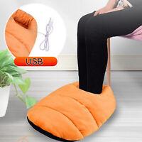 Chauffe-pied chauffant électrique Portable pour hommes femmes pieds doux coussi