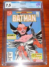 Batman #401 (Nov 1986, DC) CGC 7.5 WHITE Pages Magpie Appearance