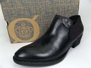 Born Women's Dallia Black Leather Chelsea Boots SZ 11.0 M, NEW DISPLAY, 17720