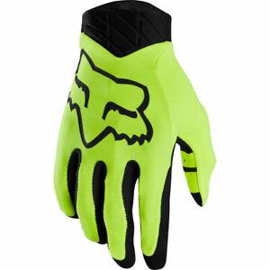 Fox Racing Flexair Lunar Glove Day Glo Yellow