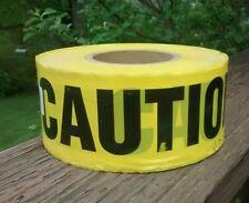 Yellow Barricade Caution Tape 3 X 1000 Constructionpoliceems