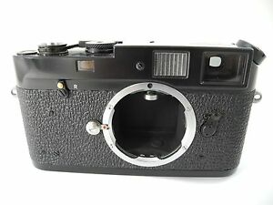 LEICA M4 MDA IN BLACK PAINT PERFECT WORKING CONDITION EX+/++ PAINT VERY CLEAN