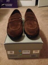 BNIB TOM FORD brown suede shoes loafers 11 11.5 - GUARANTEED AUTHENTIC