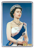 Queen Elizabeth The Second Fridge Magnet 02