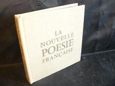 Marc Alyn: La nouvelle poésie française (Robert Morel) E.O (3000 exp) 1968 TBE