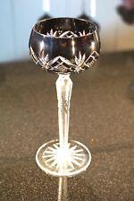 Beautiful Vintage Bohemian Deep Ruby Glass Wine Hock