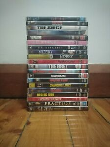 Thriller DVDs - Used - Good condition - Region 4 - $5 each *FREE POSTAGE*