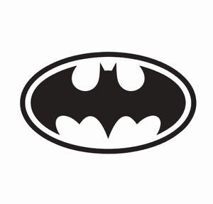 Vinyl Decal Free Shipping 750 Batman Head Silhouette Super Hero
