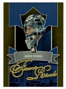 James Reimer - Toronto Maple Leafs 2012-13 ITG Forever Rivals GOLD # 99 Mint
