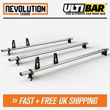 Citroen Relay, Peugeot Boxer Roof Rack Ladder Bars 3 x Van Guard ULTI Bar 2006+