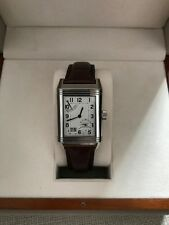 JAEGER LE-COULTRE (JLC) Reverso Grande Date 8 Day Power Reserve Q3008420 Rare!