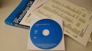 Adobe Photoshop CS4 - Windows Software with Adobe Book & Quick Ref (32&64bit)