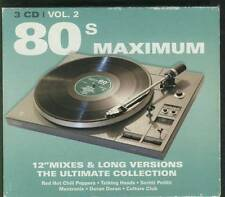 "80'S MAXIMUM 12""MIXES & LONG VERSIONS V2 3-CD BOX Blue Nile Thomas Dolby OMD etc"