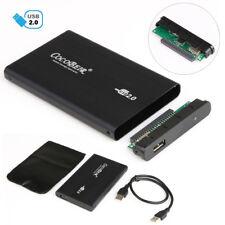 2.5 pouces usb 2.0 disque dur ide disque dur hd externe enclosure case box pour pc portable