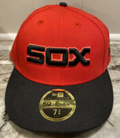 Chicago White Sox Players Weekend Fitted Hat Cap New Era Low Profile 7 3/4