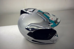 Uvex Crosshelm Helm Helmet Motocross Silber Silver Größe S Motocrosshelm